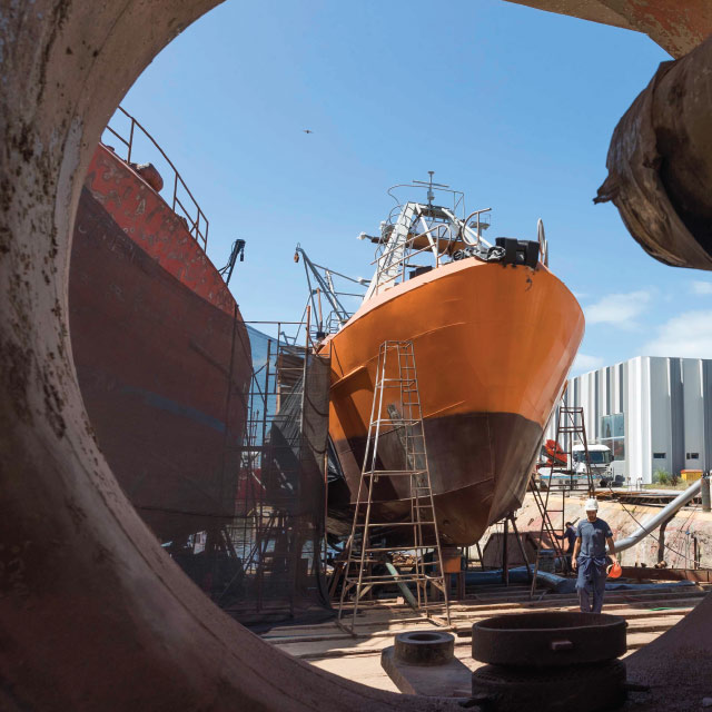 Industria Naval Trabajos Varios